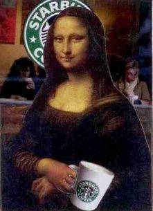 Starbucks Mona Lisa