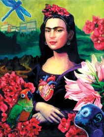 Frida Kahlo Mona Lisa