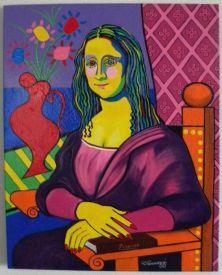 Picasso Mona Lisa