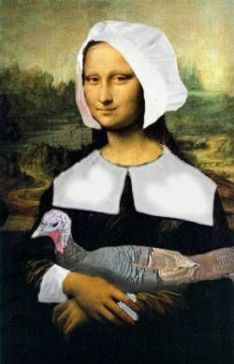 Thanksgiving Mona Lisa