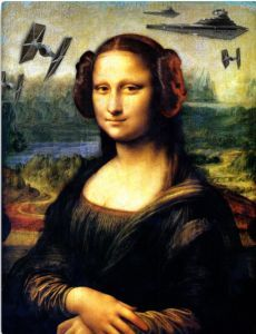 Star Wars Mona Lisa