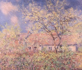 Spring in Giverny Claude Monet 1890