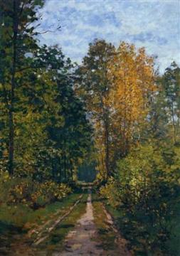 Wooded Path Claude Monet 1865